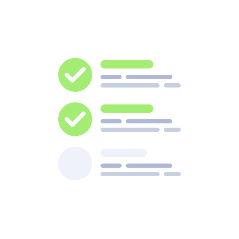 Icona per Verifica file con operatore compresa